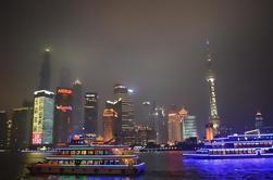 3-Hour Charming Night of Shanghai con crucero por el río Huangpu