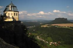 Bastei Puente y Fortaleza Königstein día de Praga
