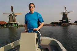 Crucero privado por el río en Zaandam y Zaanse Schans desde Amsterdam