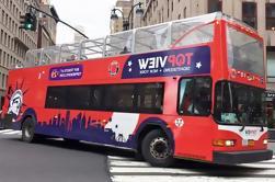 Paseo en autobús de Hop-On Hop-Off de la ciudad de Nueva York