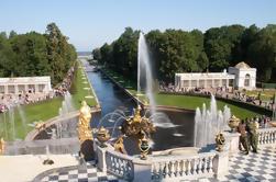 Private Peterhof Grande Palácio e Parque Entrada VIP Tour