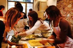 Clase de cocina italiana sana orgánica en Florencia