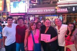 Glee Broadway Fan Tour a pie