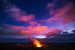 Tour en grupo pequeño: experiencia de lujo en el volcán con la cena del restaurante