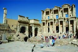 Viaje en grupo pequeño de Kusadasi a Ephesus incluyendo la casa de la Virgen Maria y de la basílica de San Juan