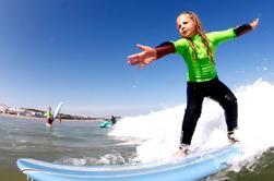 Curso de surf de 5 días para niños en Andalucía