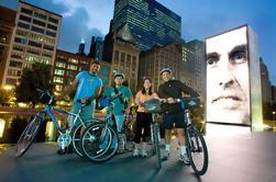 Sykler på Night Ride i Chicago