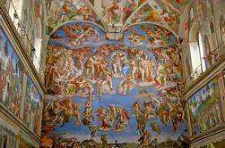 Tour privado: museos del Vaticano incluyendo la Capilla Sixtina y la Basílica de San Pedro