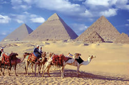 Pirâmides de Gizé Esfinge Sakkara e Memphis Day Tour do Cairo