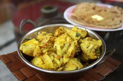 Aprenda a cocinar en una demostración de cocina local y privada en una casa de Agra