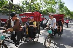 Pequeño grupo Beijing Day Tour: Mutianyu Gran Muralla, Nido de Pájaro, Cubo de Agua y Rickshaw Ride