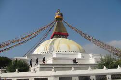 Excursão privada de dia inteiro de templos budistas em Katmandu