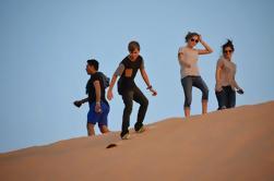 Safari del desierto de la mañana de Abu Dhabi