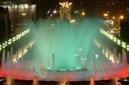 Magic Fountain Show e Gay Tour notte a Barcellona