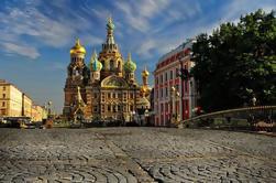 Private 4-Hour Sightseeing Tour de São Petersburgo e cruzeiro opcional de barco no rio Neva