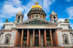 Excursão privada da fortaleza de Peter e de Paul including a catedral de St Isaac de St Petersburg