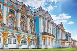 Excursión privada de medio día a los palacios de Catalina y Pavlovsk