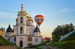 Tour Privado: Vuelo en globo aerostático de Dimitrov y City Tour desde Moscú