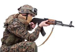 Private Tour: Atire em um exército soviético e russo Armas: Mundo famosos Kalashnikov AK-47 - Dragunov Sniper Rifle - Degtyaryov metralhadora