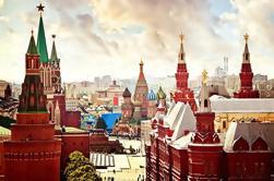 Excursão privada de meio dia a Moscovo