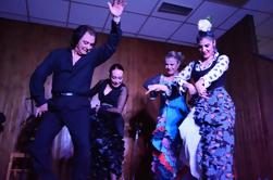 Flamenco Show met diner en Workshop in Madrid