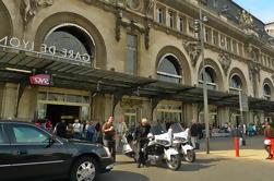 Traslado privado: Hotel de París a cualquier estación de tren