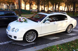 Los aeropuertos de París recogen en un lujoso Bentley