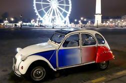París y Montmartre por la noche Tour en 2CV