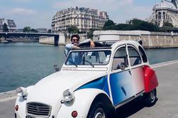 Tour Privado de París: Tour Romántico en 2CV