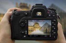 Excursión a pie de la lección privada de la fotografía de París