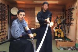 Lección privada de inmersión de Samurai en Tokio