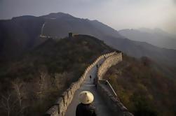 Excursión de un día a los pequeños grupos de Pekín a la Gran Muralla de Mutianyu, incluido el almuerzo