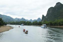 Excursión privada al día de crucero por el río Li y excursión de Yangshuo desde Guilin