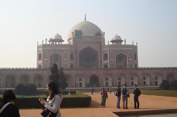 Excursión privada de día completo Delhi: Raj Ghat, Qutub Minar y Tumba de Humayuns incluyendo paseo de Rickshaw