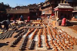 4-Day Sightseeing Tour van Kathmandu met uitstapjes naar Patan, Bhaktapur en Nagarkot
