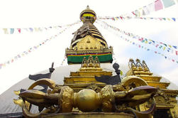 Excursão privada de Swyambhunath e Kathmandu Durbar Square