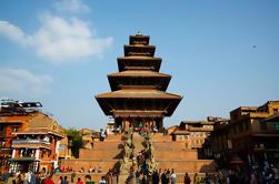 3 horas de visita privada a la auténtica ciudad de Bhaktapur incluyendo almuerzo