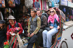 Excursión de 3 horas a Thamel por Rickshaw en Katmandú