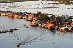 Aventure à la demi-journée sur le lac Tonle Sap