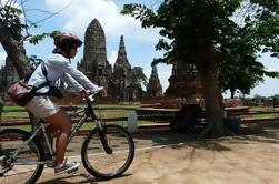 Passeio de bicicleta de Ayutthaya de dia inteiro