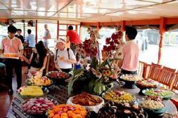 Excursão do canal da barcaça do arroz de Banguecoque