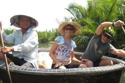 Hoi Un viaje de medio día a Cam Thanh pueblo con Bamboo Basket-Boat Experience