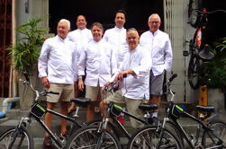 Recorrido del cocinero y de la bici de Bangkok
