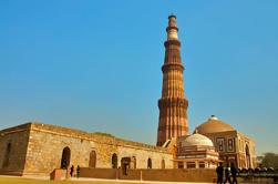 Excursión guiada privada de día completo de la ciudad vieja y Nueva Delhi