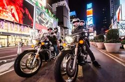 Excursión privada de la motocicleta de Manhattan