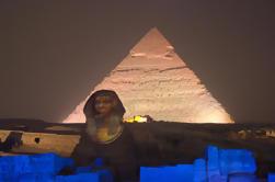 Espectáculo de sonido y luz en las pirámides de Giza
