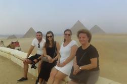 Pirâmides de Gizé e Tour da Esfinge do Aeroporto do Cairo