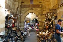 Destacados egipcios: Museo de la Mezquita de Alabastro Colgante Iglesia y Khan Bazar de El Cairo