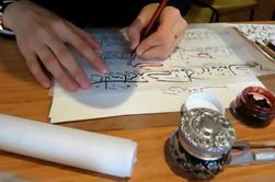 Workshop de Caligrafia Turca em Istambul