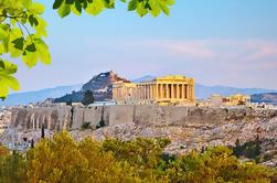 Acropolis privado y nuevo Museo de la Acrópolis Tour con cena en Lycabettus Hill